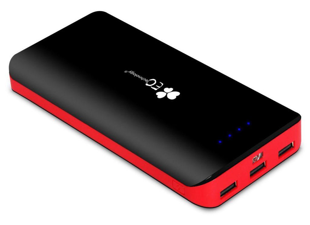 EC Technology 2nd Gen Deluxe 22400mAh External Battery