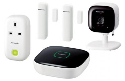 Panasonic Smart Home Monitoring & Control Kit (KX-HN6012EW)