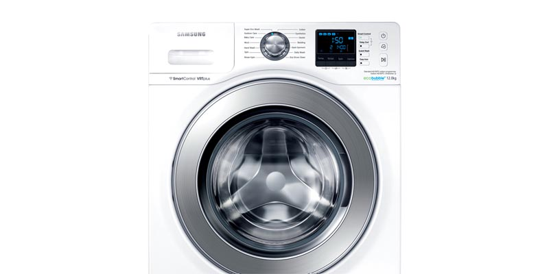 Samsung WF12F9E6P4W 12kg 1400rpm WiFi ecobubble Washing Machine