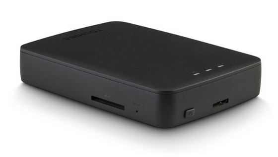Toshiba Canvio AeroCast Wireless Portable Hard Drive